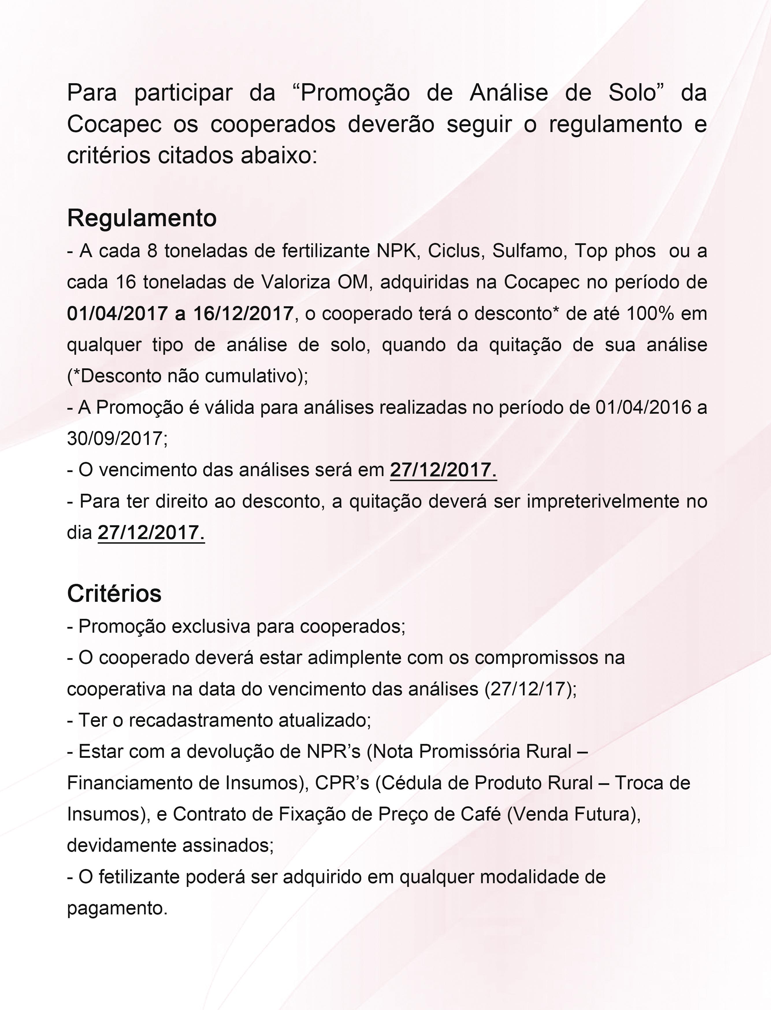 regulamento 2017